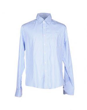 Pубашка NWY NEVER WITHOUT YOU. Цвет: небесно-голубой