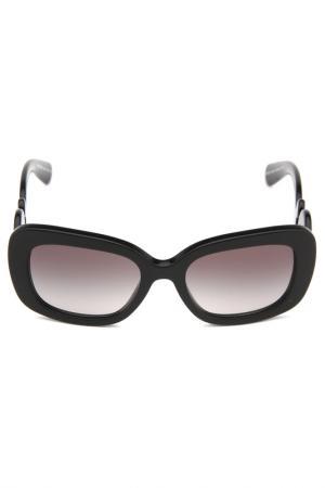 Очки солнцезащитные Prada. Цвет: 1ab3m1
