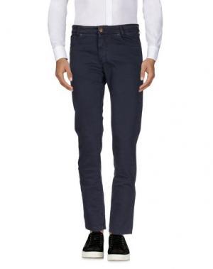 Повседневные брюки B SETTECENTO. Цвет: темно-синий