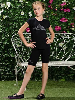 Шорты Arina Ballerina. Цвет: черный