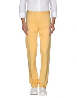 Повседневные брюки NARDELLI. Цвет: желтый
