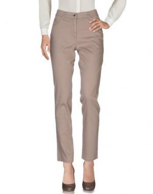 Повседневные брюки JEANS & POLO. Цвет: хаки