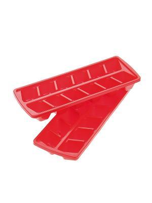 Форма для льда, 2 шт. Migura. Цвет: красный