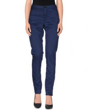 Повседневные брюки NINE:INTHE:MORNING. Цвет: синий