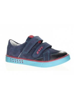 Ботинки Bartek. Цвет: голубой, красный