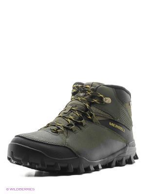 Ботинки MERRELL. Цвет: темно-зеленый
