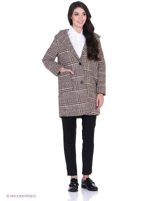 Пальто L'Anu de Meri. Цвет: коричневый