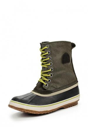 Ботинки Sorel. Цвет: хаки
