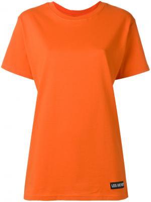Футболка Demna 81 Les (Art)Ists. Цвет: жёлтый и оранжевый