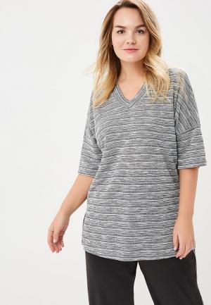 Пуловер Bonne Femme. Цвет: серый