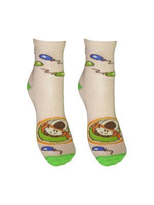 Носки 2 пары Master Socks. Цвет: бежевый