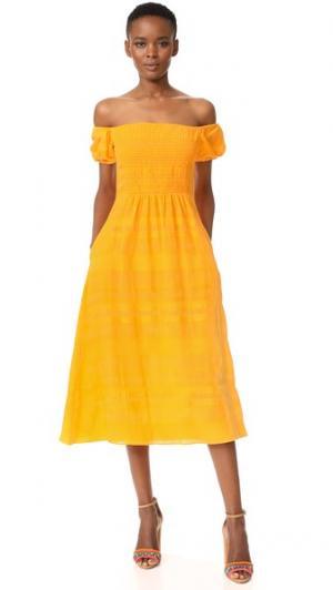 Платье Zanna Tanya Taylor. Цвет: календула