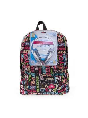 Рюкзак 3D Bags. Цвет: черный, голубой, красный