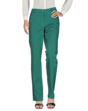Повседневные брюки ALTEA dal 1973. Цвет: темно-зеленый