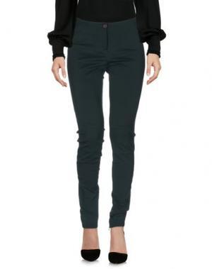 Повседневные брюки VIA MASINI 80. Цвет: зеленый