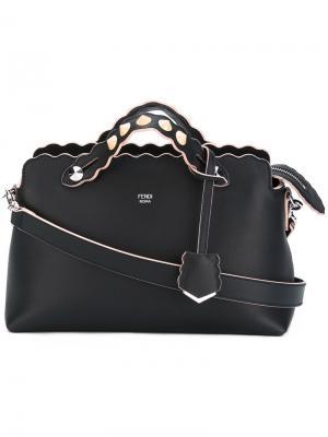 Большая сумка на плечо By  Way Fendi. Цвет: синий