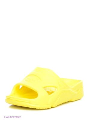 Шлепанцы Дюна. Цвет: желтый