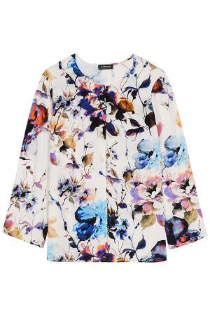 Блузка с цветочным принтом Le monique