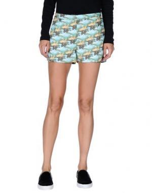 Повседневные шорты EMMA COOK. Цвет: зеленый