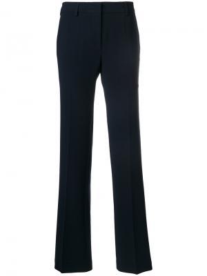 Строгие брюки Alberto Biani. Цвет: синий