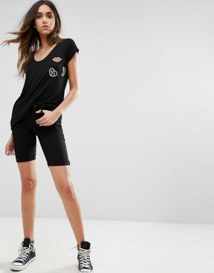 Pieces Длинные шорты чиносы Just Wear. Цвет: черный