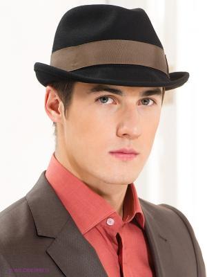 Шляпа Goorin Brothers. Цвет: черный, серо-коричневый