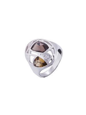 Кольцо Мастер Клио. Цвет: серебристый, золотистый, коричневый