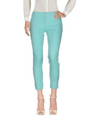 Повседневные брюки MARCELLO SANGIORGI. Цвет: небесно-голубой