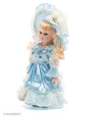 Кукла фарфоровая Инесса Lisa Jane. Цвет: бледно-розовый, голубой