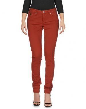 Джинсовые брюки MAISON SCOTCH. Цвет: ржаво-коричневый