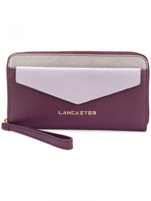 Кошелек-конверт Lancaster. Цвет: розовый и фиолетовый