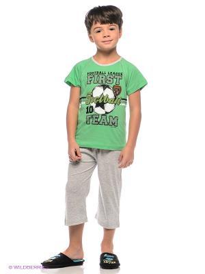 Комплект Vienetta Secret. Цвет: зеленый, серый меланж, черный