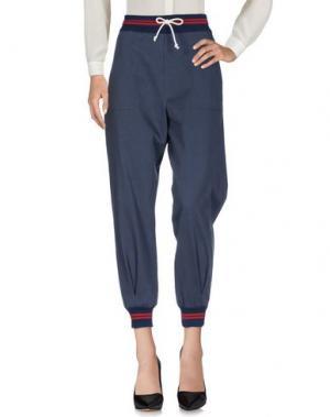Повседневные брюки BOY by BAND OF OUTSIDERS. Цвет: темно-синий