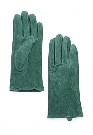 Перчатки Befree. Цвет: зеленый