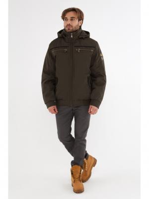 Куртка VIZANI. Цвет: хаки
