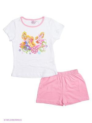 Пижама Sun City. Цвет: розовый, белый