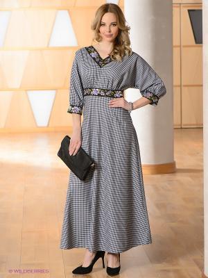 Платье OLIVEGREY. Цвет: белый, черный