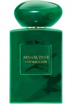 Парфюмерная вода Vert Malachite Giorgio Armani. Цвет: бесцветный