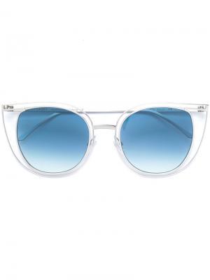 Солнцезащитные очки Potentially Thierry Lasry. Цвет: серый