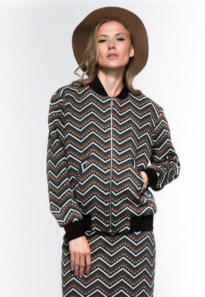 Куртка YuliaSway Yulia'Sway. Цвет: разноцветный