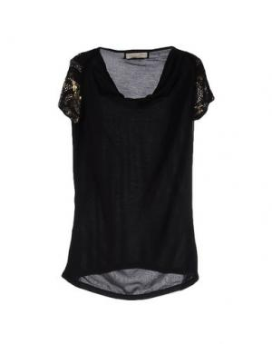 Блузка GIORGIA & JOHNS. Цвет: черный