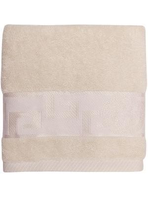 Полотенце банное 50*90 Bonita Медея, махровое, Крем. Цвет: молочный