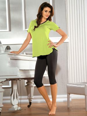 Пижама Babell. Цвет: светло-зеленый, темно-серый