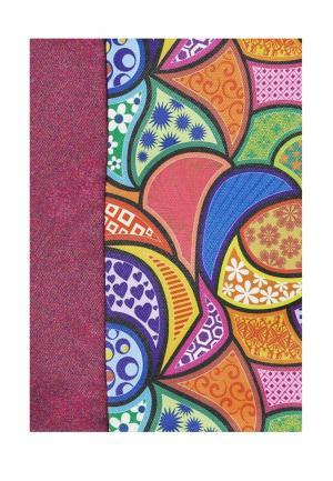 Комплект штор ТОМДОМ. Цвет: фиолетовый