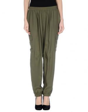 Повседневные брюки GOLD HAWK. Цвет: зеленый-милитари