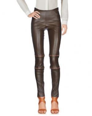 Повседневные брюки APHERO. Цвет: темно-коричневый