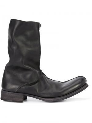 Ботинки-слипон Ma+. Цвет: чёрный