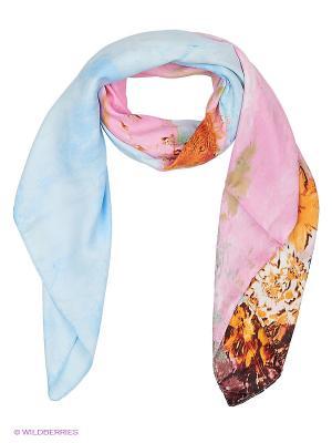 Платок Sabellino. Цвет: голубой, розовый