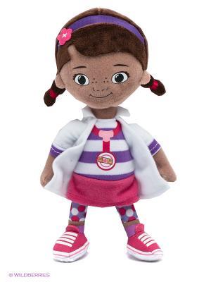 Доктор Плюшева 20 см Disney Kids Cars. Цвет: бежевый, белый, коричневый, сиреневый