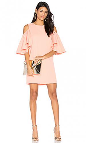 Платье с прорезями на плечах BLAQUE LABEL. Цвет: peach